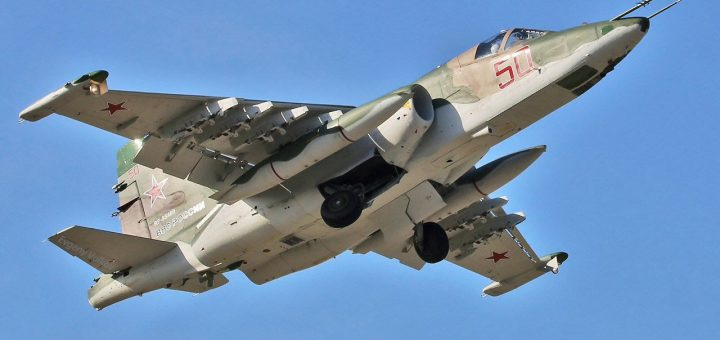 Rus Hava Kuvvetleri Sukhoi Su-25SM3 Grach