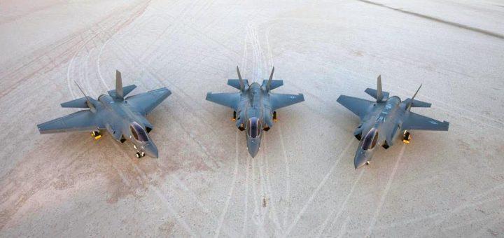 ABD Lockheed Martin F-35C, F-35B ve F-35A