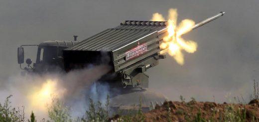 Rus Ordusu Tornado-G Silah sistemi.