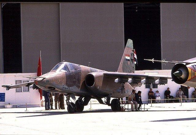 1988_Iraqi Air Force Sukhoi Su-25K Frogfoot-A