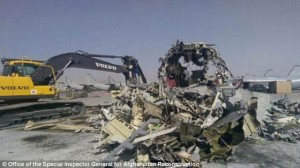 Scrapped: The US Air Force now faces a probe as to why the planes, which cost $500million were turned into $32,000 of scrap metal. They will also be asked why the money wasn't 'salvaged'