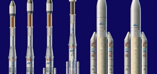 Ariane Family launcher