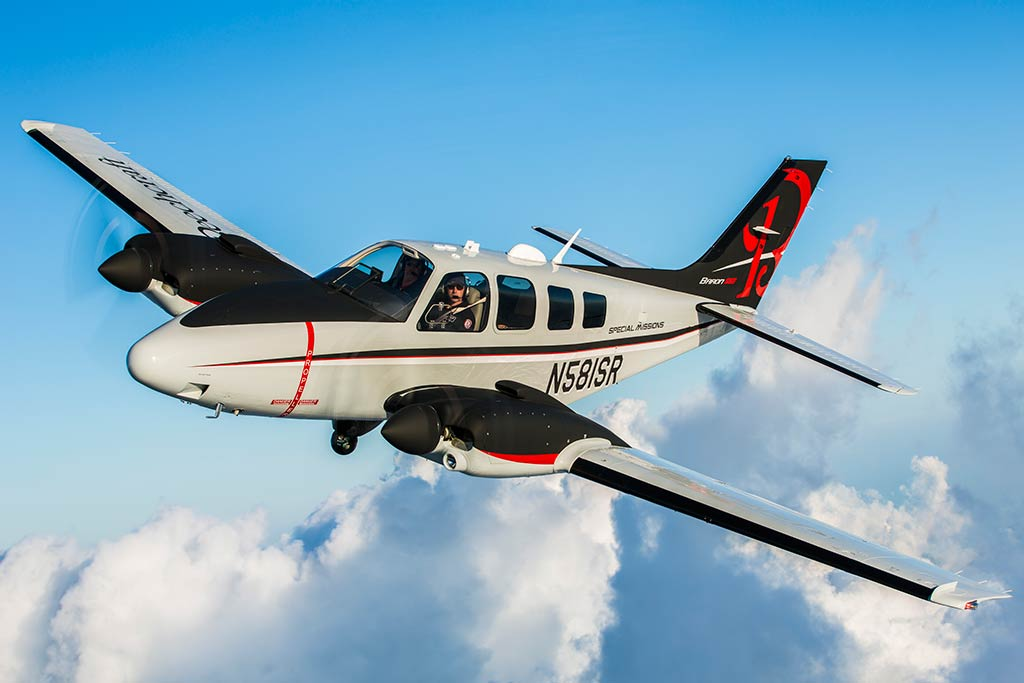 Beechcraft Baron ISR-A2A Special Missions Aircraft (Photo by textron.vo.llnwd.net)