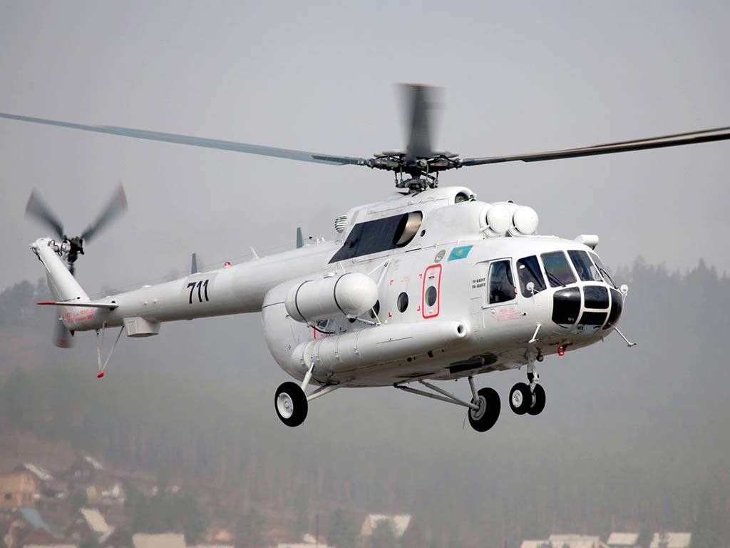 Russian Mi-8AMT medium multirole Helicopter (Photo by russianhelicopters.aero)
