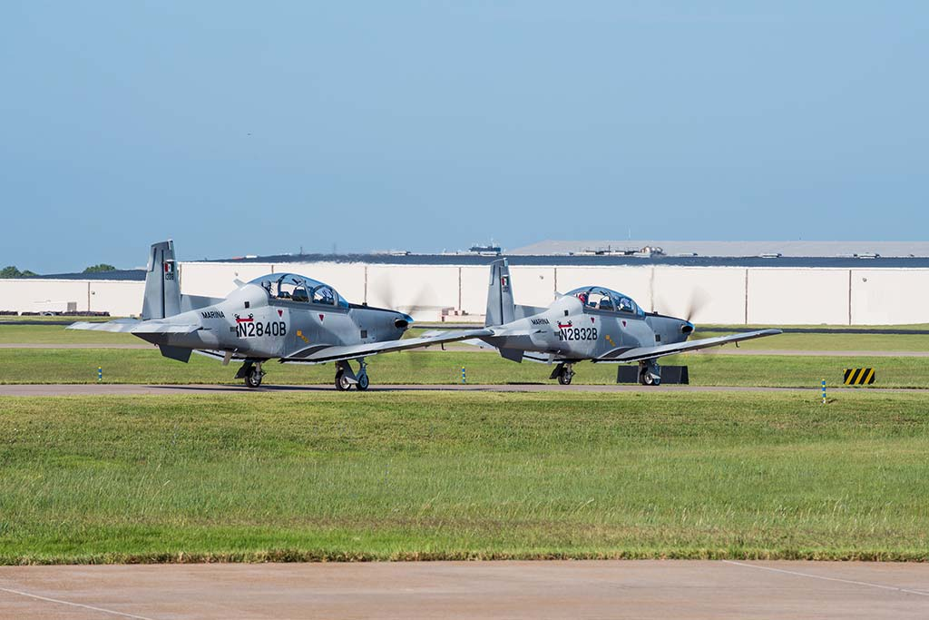 Beechcraft T-6C Delivery to Mexican Navy (Photo by textron.vo.llnwd.net)
