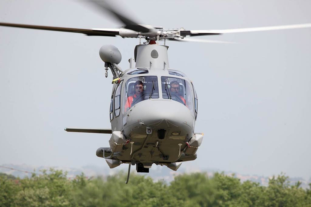 Philippine Air Force AgustaWestland AW-109 Power light twin helicopter (Photo by AgustaWestland)