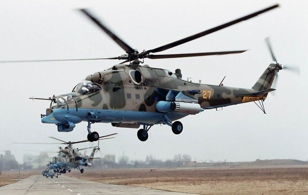 Russian Helicopters Mi-24PN in 2005 (Photo by russianhelicopters.aero)