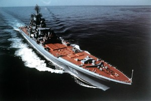 Russian Navy Kirov-class battle cruiser