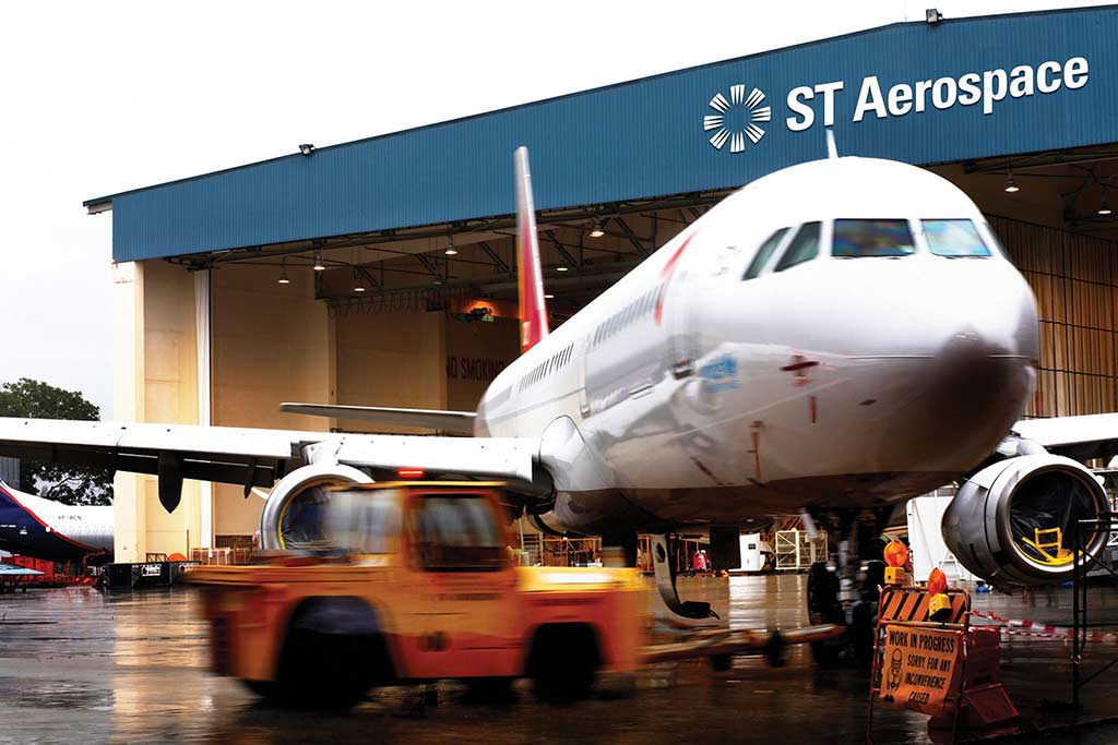 ST Aerospace offers a full range of aerospace services ranging from MRO, manufacturing to research.(Photo by St Aerospace Engineering)
