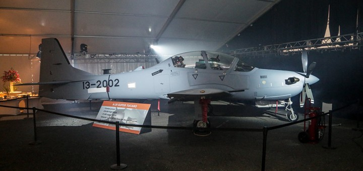 USAF Sierra Nevada Corporation & Embraer A-29 Super Tucano Light Air Support (LAS) Program (Photo by EmbraerSA. 25.09.2014)