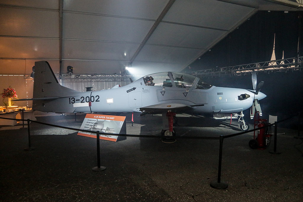 USAF Sierra Nevada Corporation & Embraer A-29 Super Tucano Light Air Support (LAS) Program (Photo by EmbraerSA. 25.09.2014)