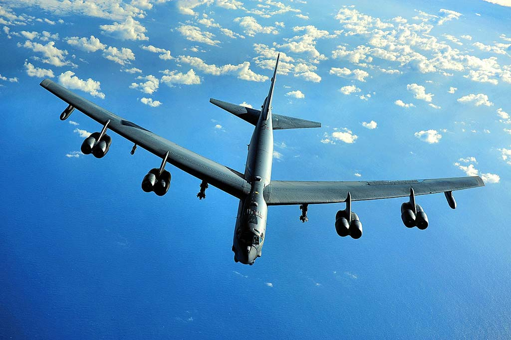 The USAF B-52H Stratofortress is the most common heavy bomber in the current Air Force fleet. Last Sunday marked the fifty-second anniversary of the day when the last B-52H completed production. (Photo by U.S. Air Force)