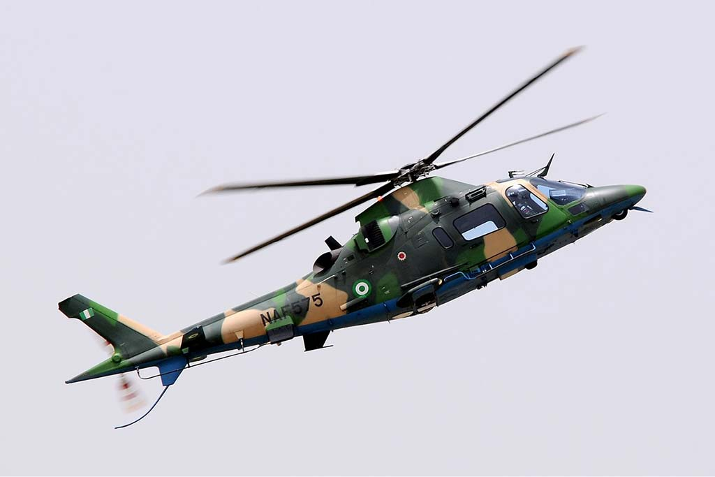 Nigerian Air Force Agusta A-109LUH NAF575 (Photo by airliners.net)