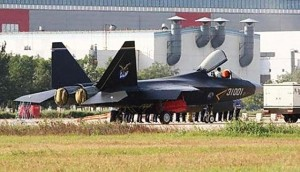 Chinese Air Force (PLAAF) Shenyang J-31 Gyrfalcon Stealth Fighter Jet