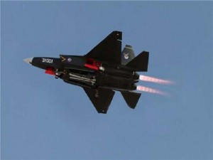 Chinese Shenyang J-31 Gyrfalcon Stealth-Fighter Aircraft