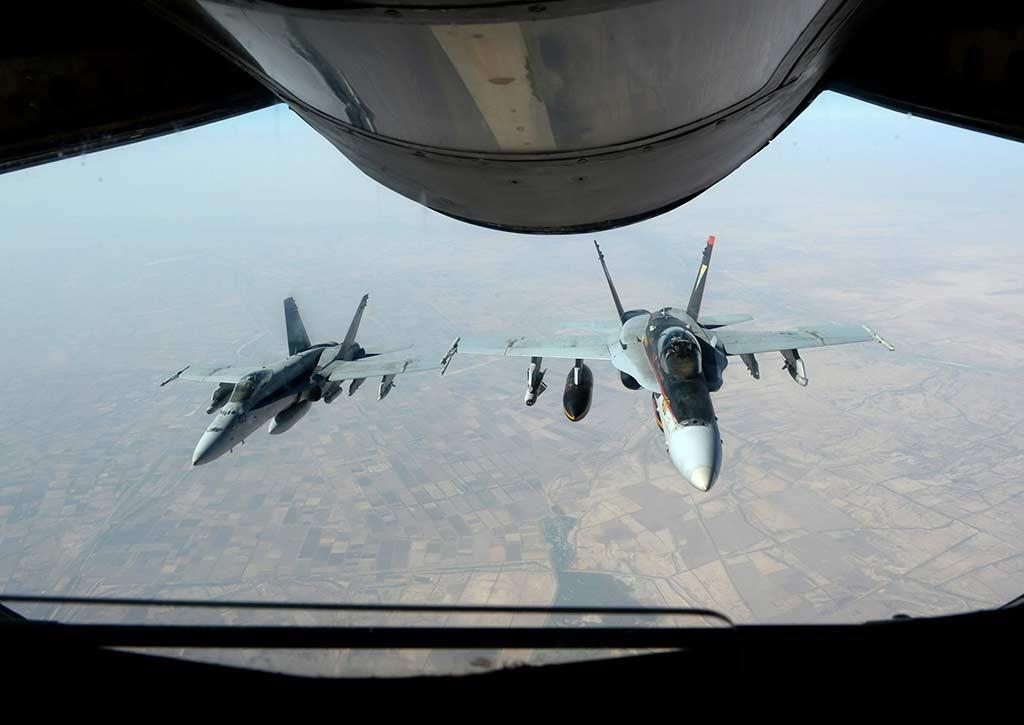 U.S. Navy F-18 Hornet Fighter Aircrafts (Photo by washingtonpost.com)