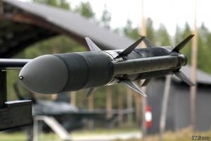 Raytheon AIM-120C7 AMRAAM missile