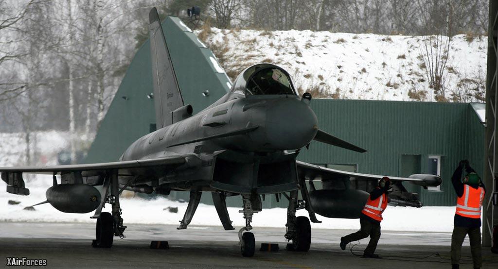 NATO Eurofighter Interceptor role