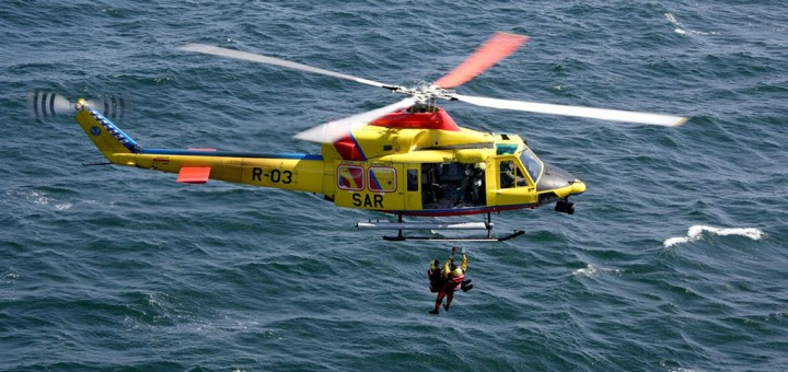 AB-412 SAR helicopter
