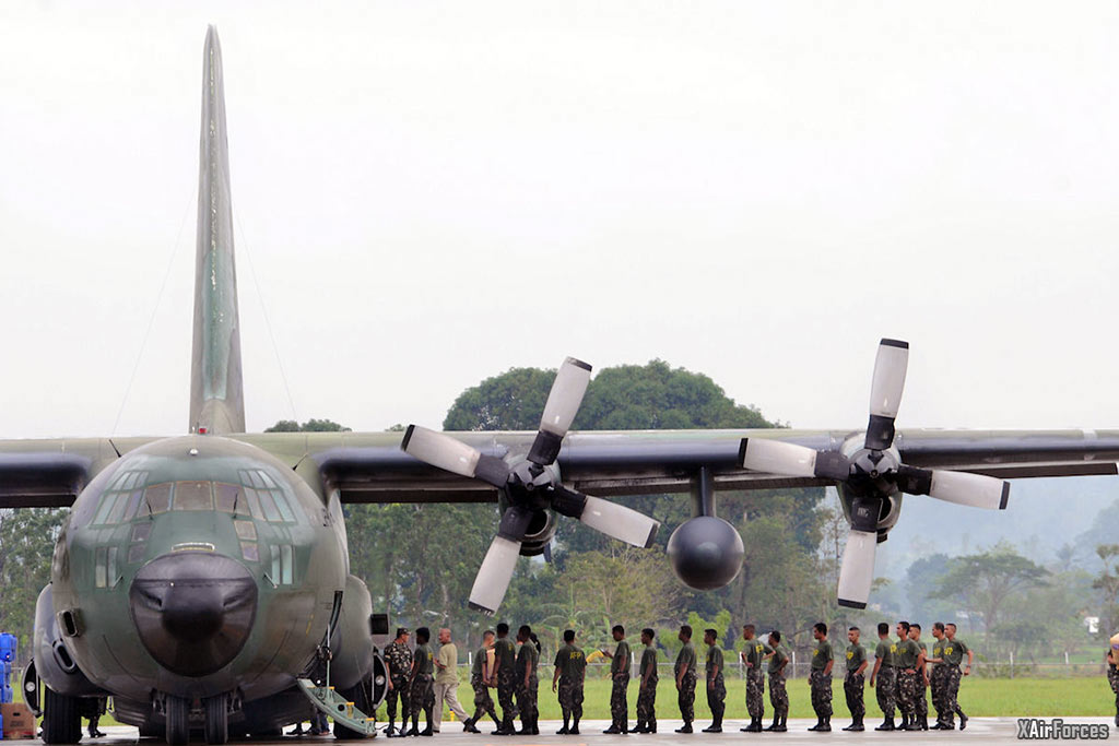 Philippine Air Force C-130 Hercules