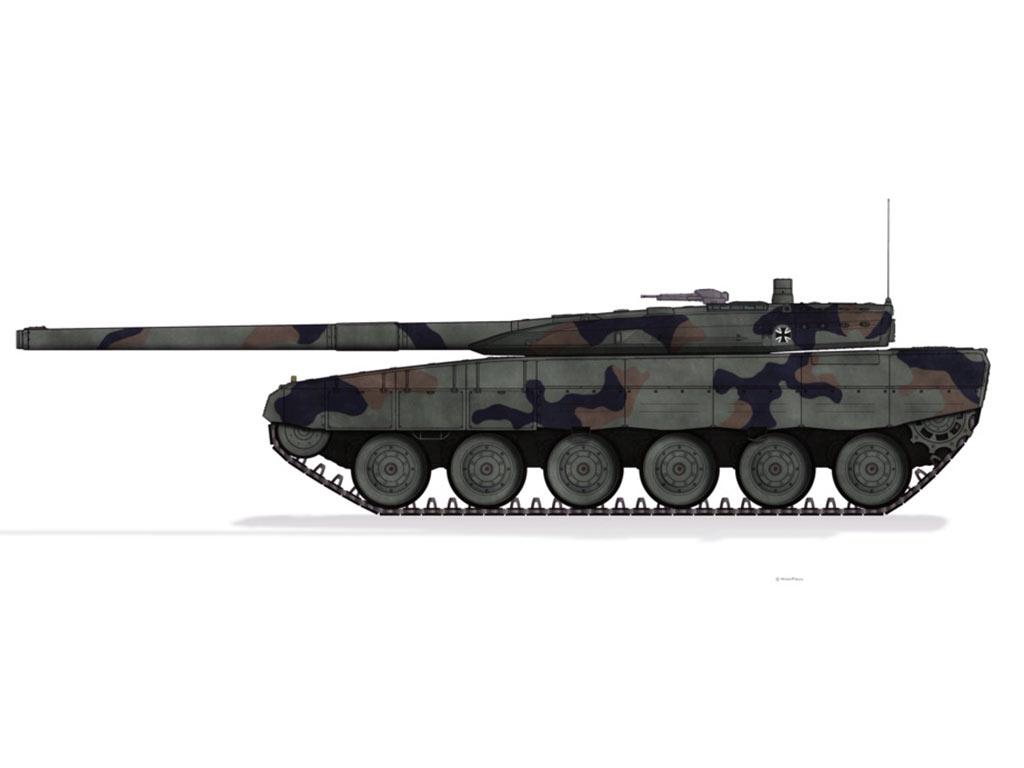 German Leopard 2A7 Next Generation Tank