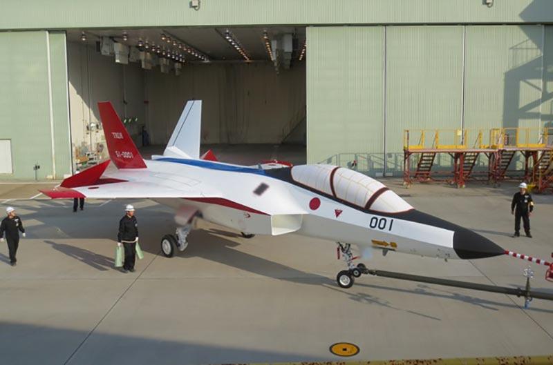 Japanese-stealth-fighter-jet