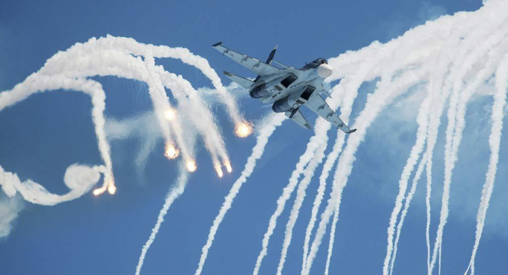 Russian Air Force Su-27 Flanker (© Sputnik/ Alexandr Kryazhev)
