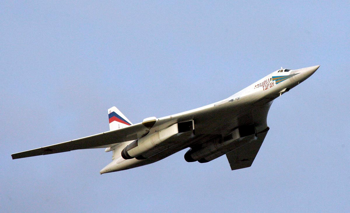 Russian Air Force Tupolev Tu-160