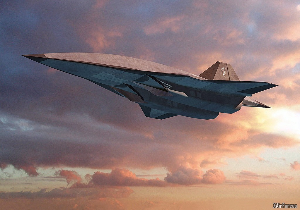 The Lockheed Martin SR-72 Hypersonic Aircraft