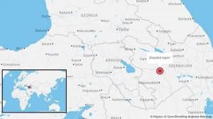 Armenia/Azerbaijan conflict Map