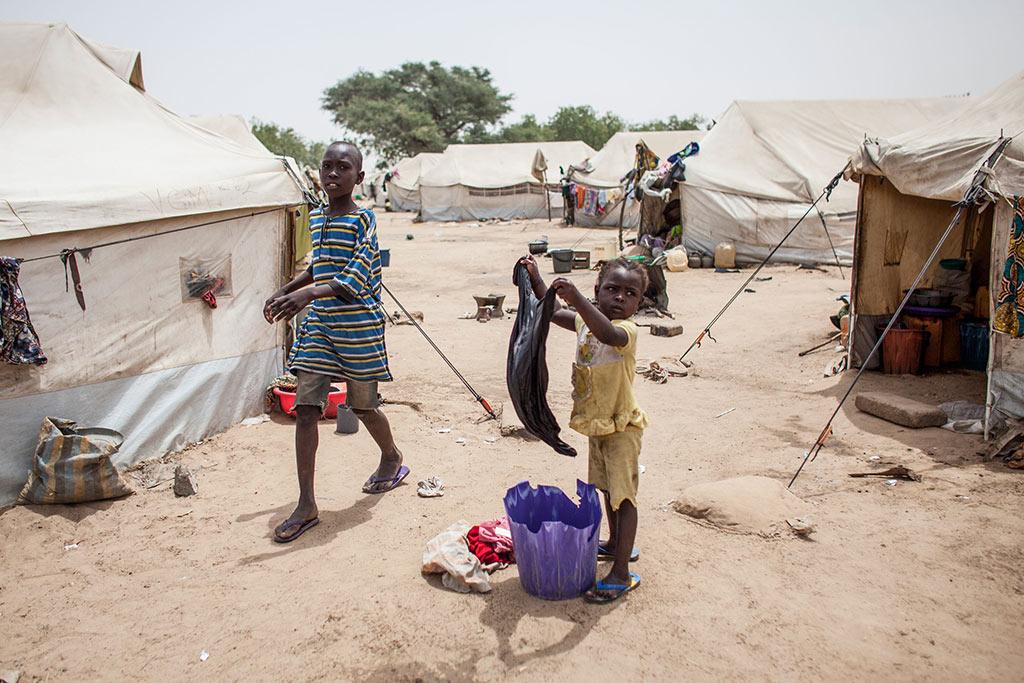 Nigeria Maiduguri Dalori camp