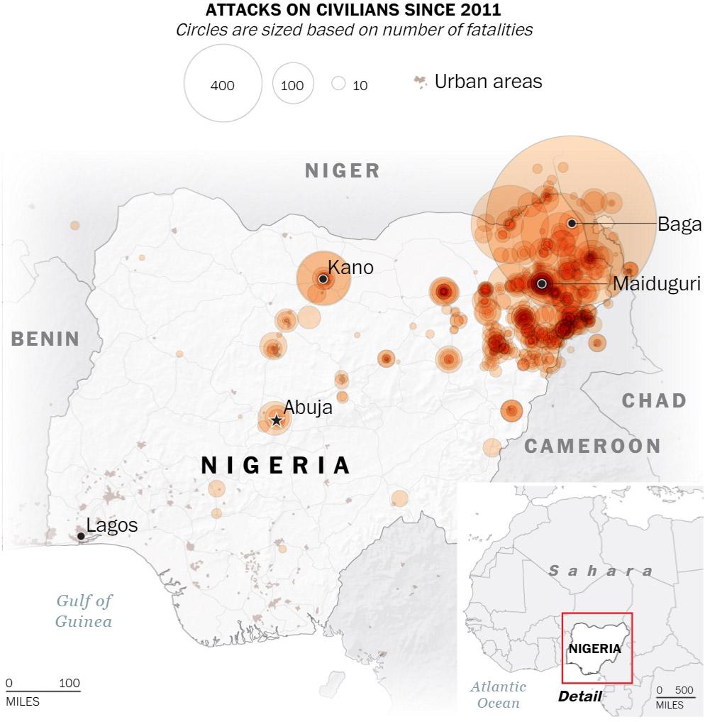 Nigeria displaced bigmap (Washington-Post) 03 April 2016
