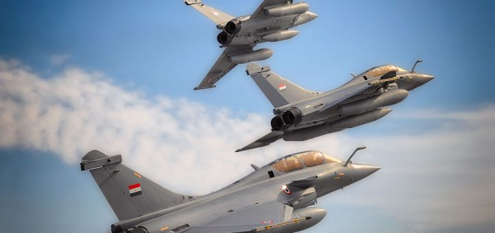 Egyptian Air Force Rafales