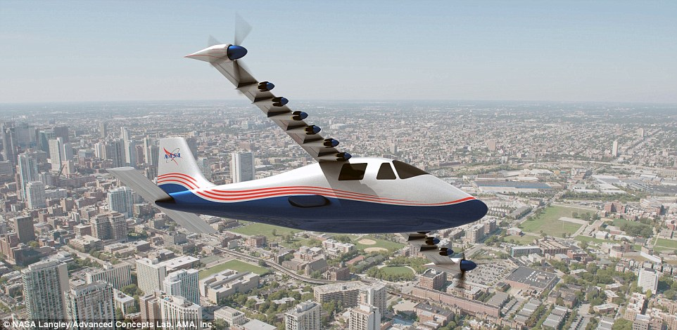 's X-57 Electric Research Plane