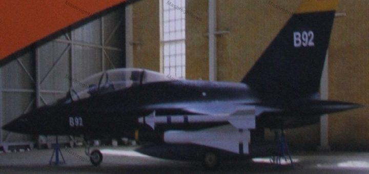 Iranian made Borhan fighter aircraft