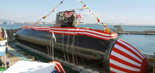 Japan Navy Soryu submarine