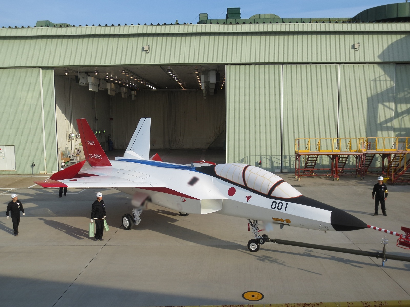 Japan made F-3 stealth fighter jet