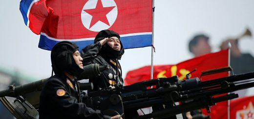 North Korean Army Force
