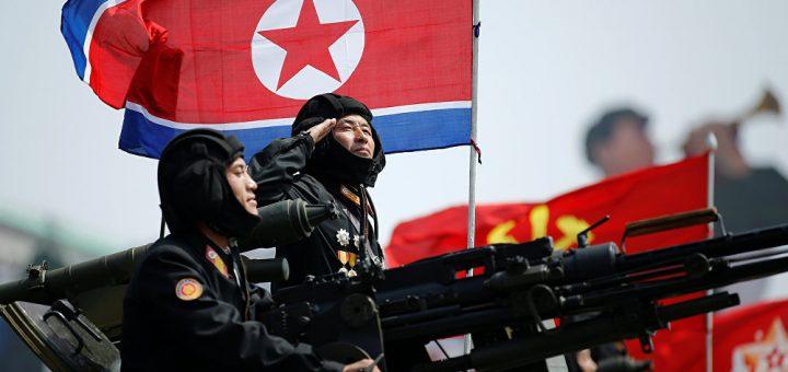North Korean Army Force