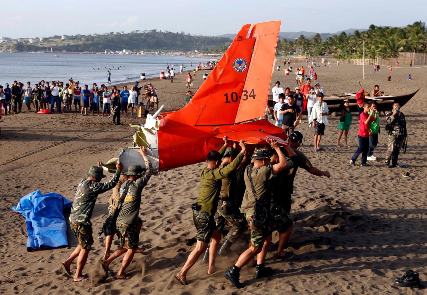 Philippine Air Force SF-260 crash
