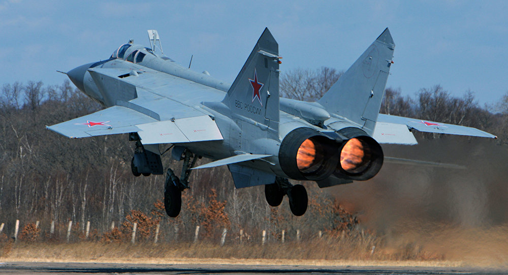 Russian Air Force's MiG-31