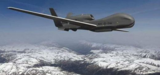 U.S. Air Force's Northrop Grumman RQ-4 Global Hawk