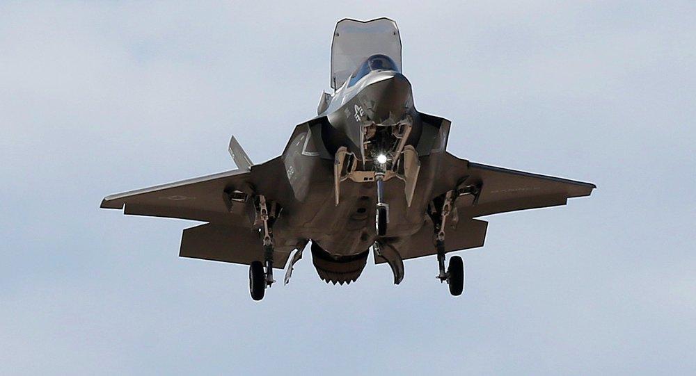 US Marine F-35B Lightning II