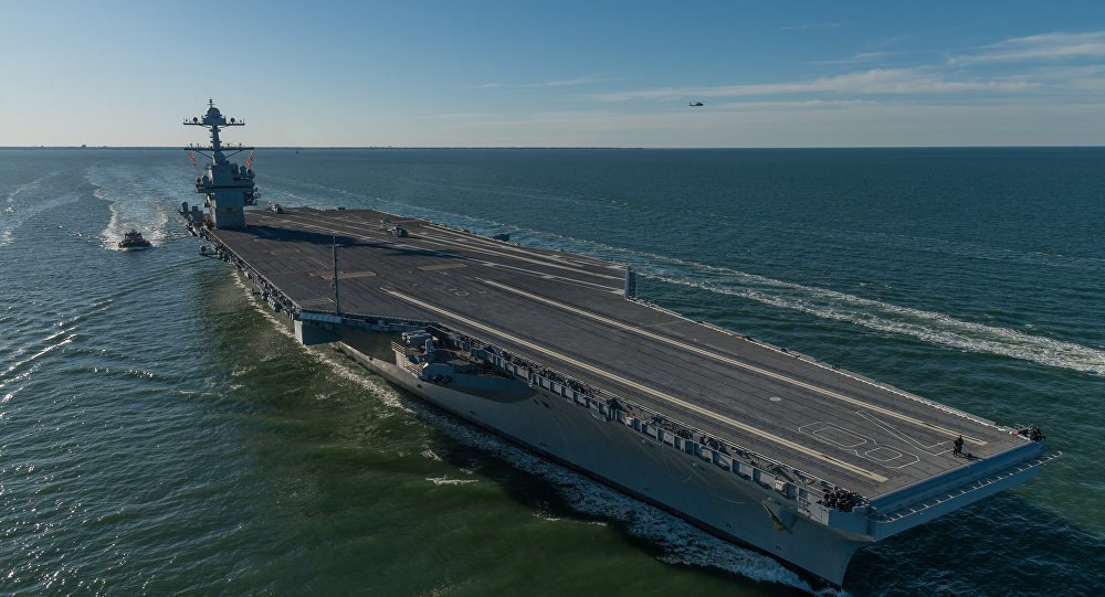 US Navy USS Gerald Ford Supercarrier