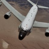 USAF Boeing RC-135 reconnaissance aircraft