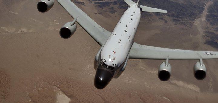 USAF Boeing RC-135 reconnaissance aircraft