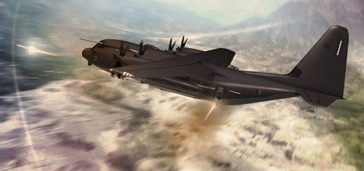 USAF Lockheed Martin C-130J-SOF Super Hercules
