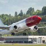 Norwegian firt Boeing-737-MAX-8-EI-FYA