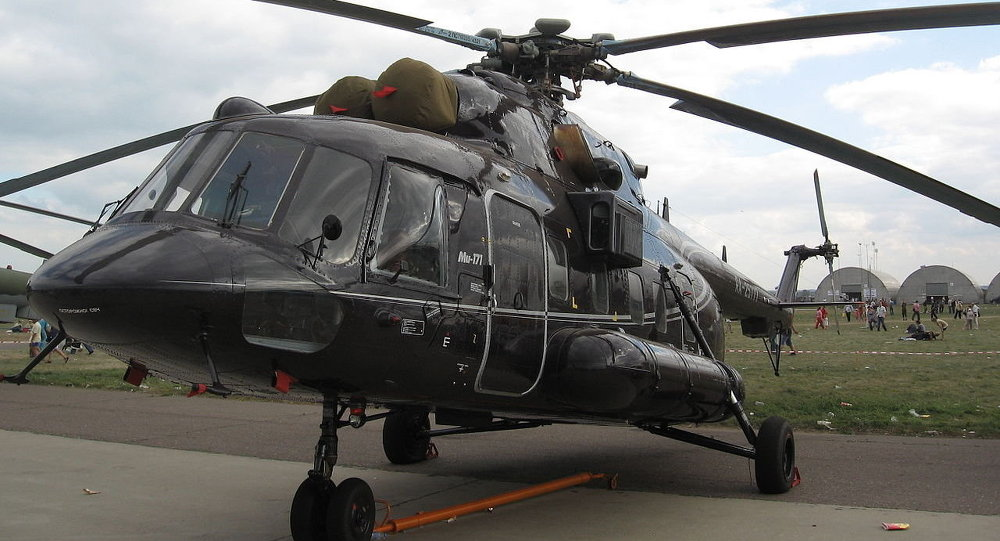 Russian Mi-171Sh helicopter.
