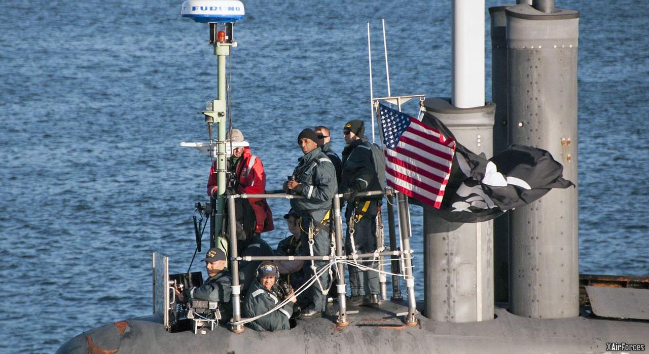 USS Jimmy Carter Spy Submarine